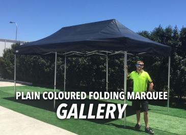 Folding Marquees Plain